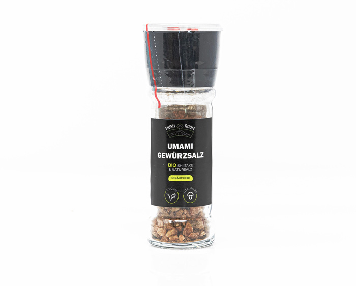 Umami Gewürzsalz mit Shiitake - Mush-Room Wien Produkt